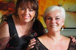 Annette Rijnders en Brigitte Duynstee